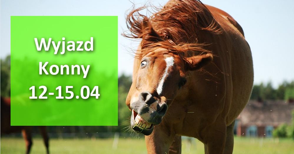 Wyjazd na konie 12-15.04