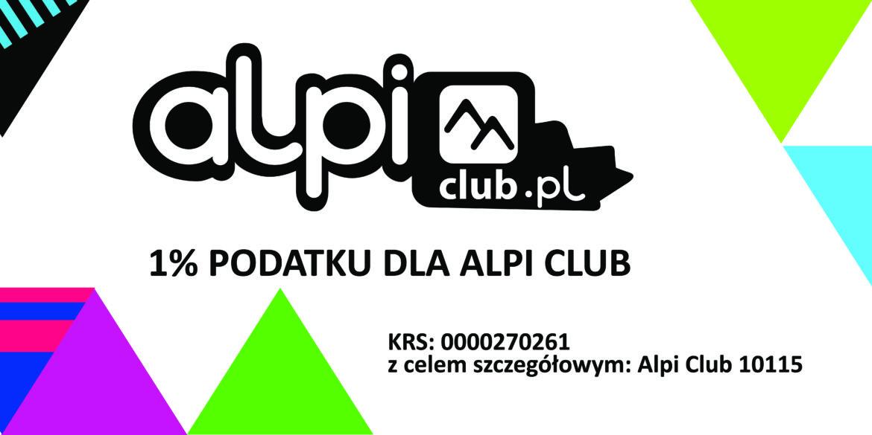 Przekaż 1% na Alpi Club
