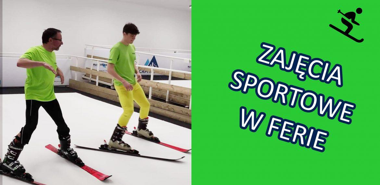 Zajęcia sportowe podczas ferii